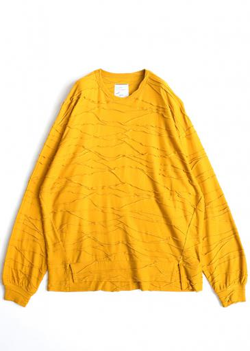 TUCK JQ L/S PULL OVER/Yellow