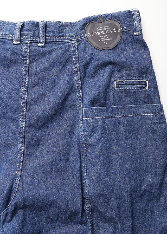 6.5OZ DENIM FLARE PANTS CHEMICAL/W