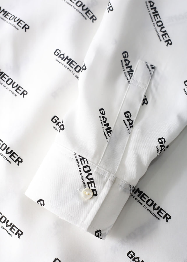 GAME OVER LOGO BIG SHIRTS
