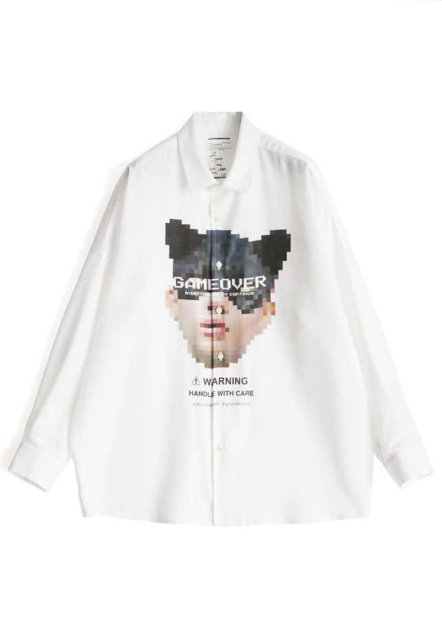 """DOT CAT""  BIG SHIRTS"
