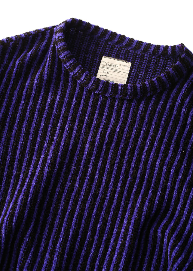 MOLE STRIPE PULL OVER RE-NECK