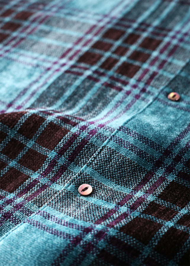 MOLE CHECK DOLMAN SHIRTS