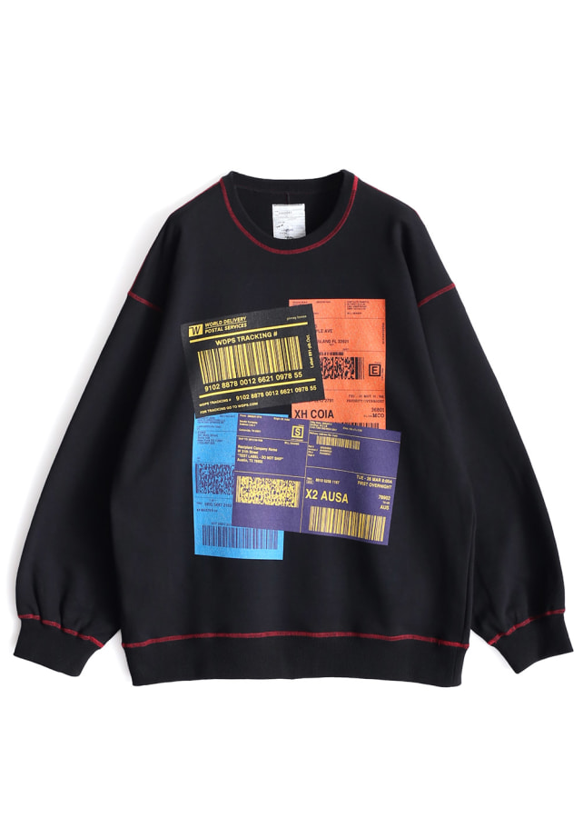 """COLOR LABEL"" BIG SWEAT"
