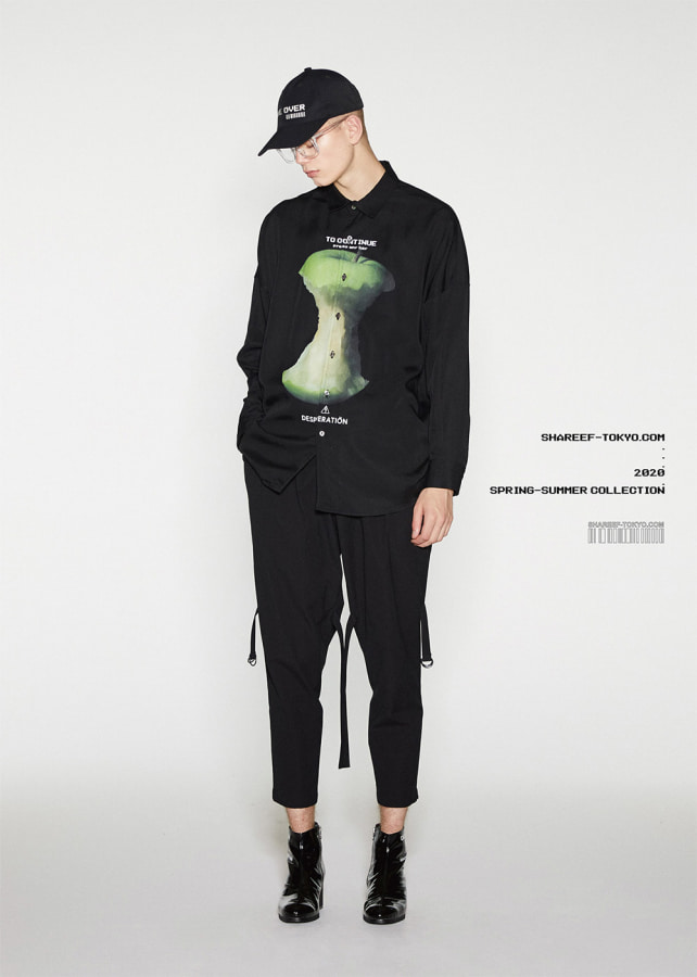 """GREEN APPLE""  BIG SHIRTS"