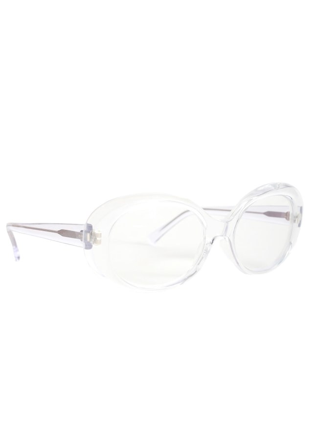 CLEAR SUNGLASS OVAL