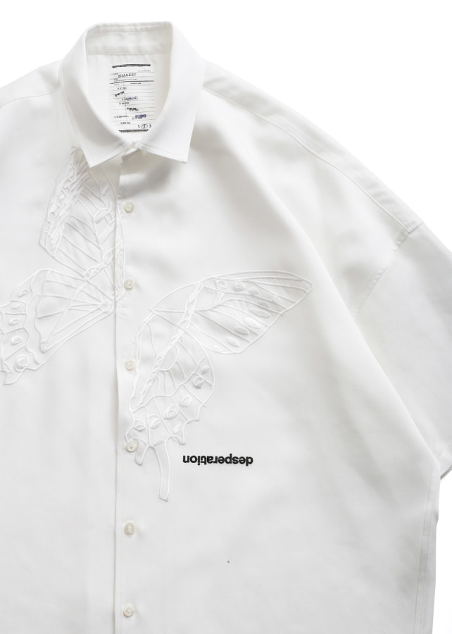 """BUTTERFLY"" S/S BIG SHIRTS"