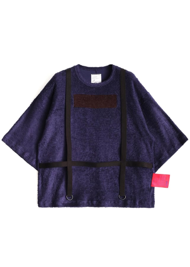 RAYON PILE BELTED S/S T
