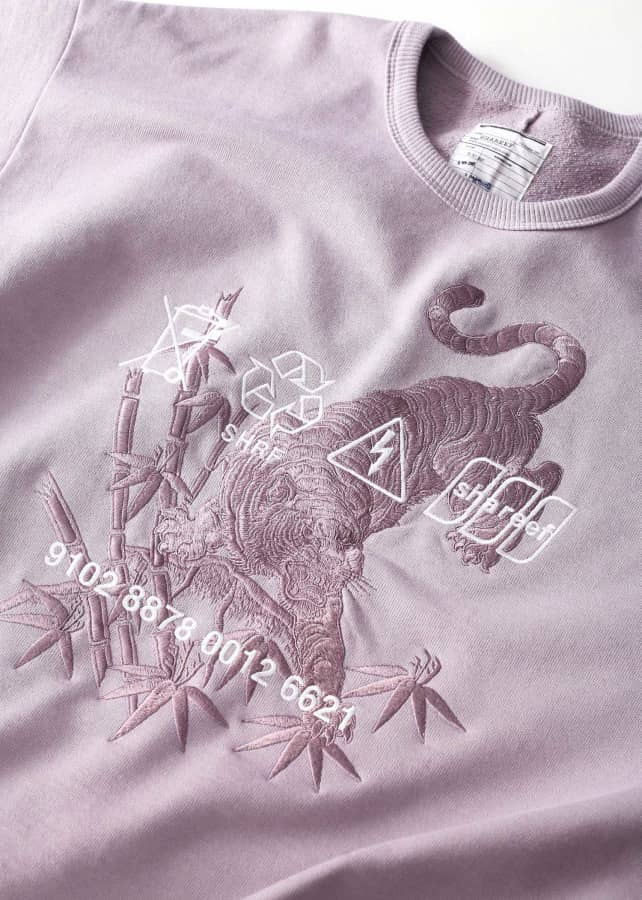 """虎""emb. BIG SWEAT"