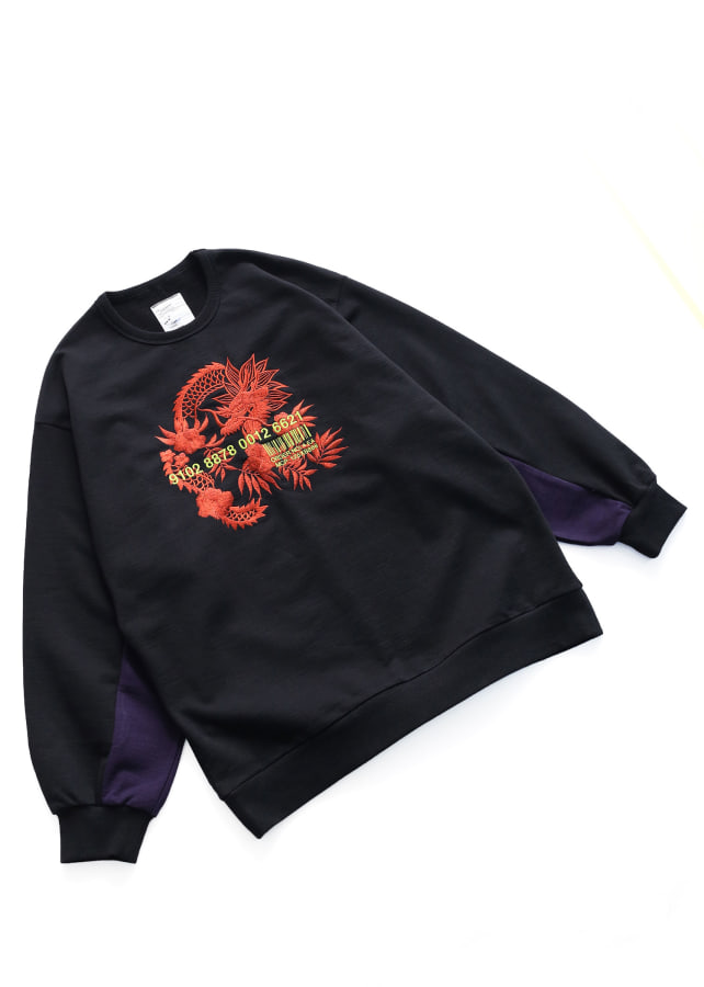 """龍""emb. BIG SWEAT"