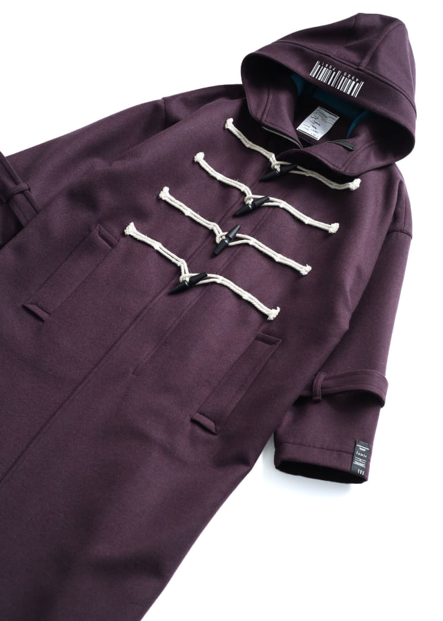 W FACE MELTON DUFFEL COAT