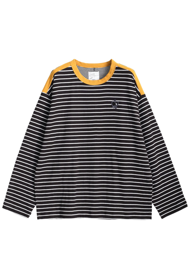 W FACE BORDER L/S PULL OVER