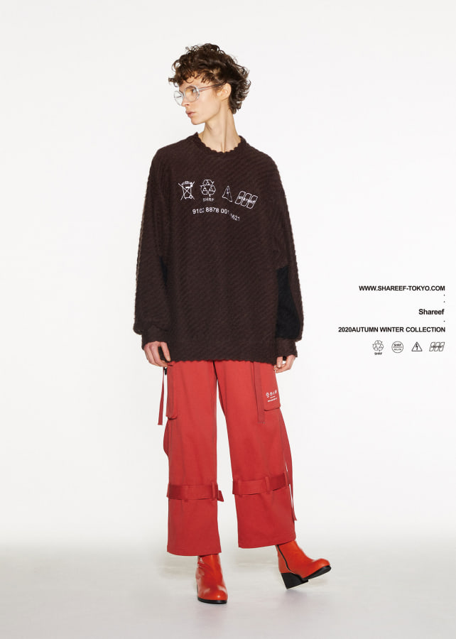 TWILL SHAGGY L/S PULL OVER