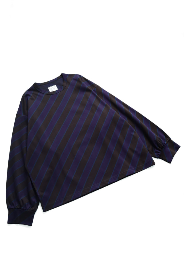 BIAS LINE JQ L/S PULL OVER