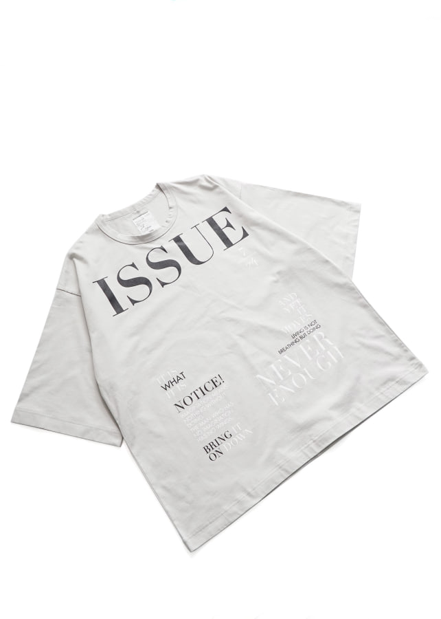 """ISSUE"" S/S BIG T"